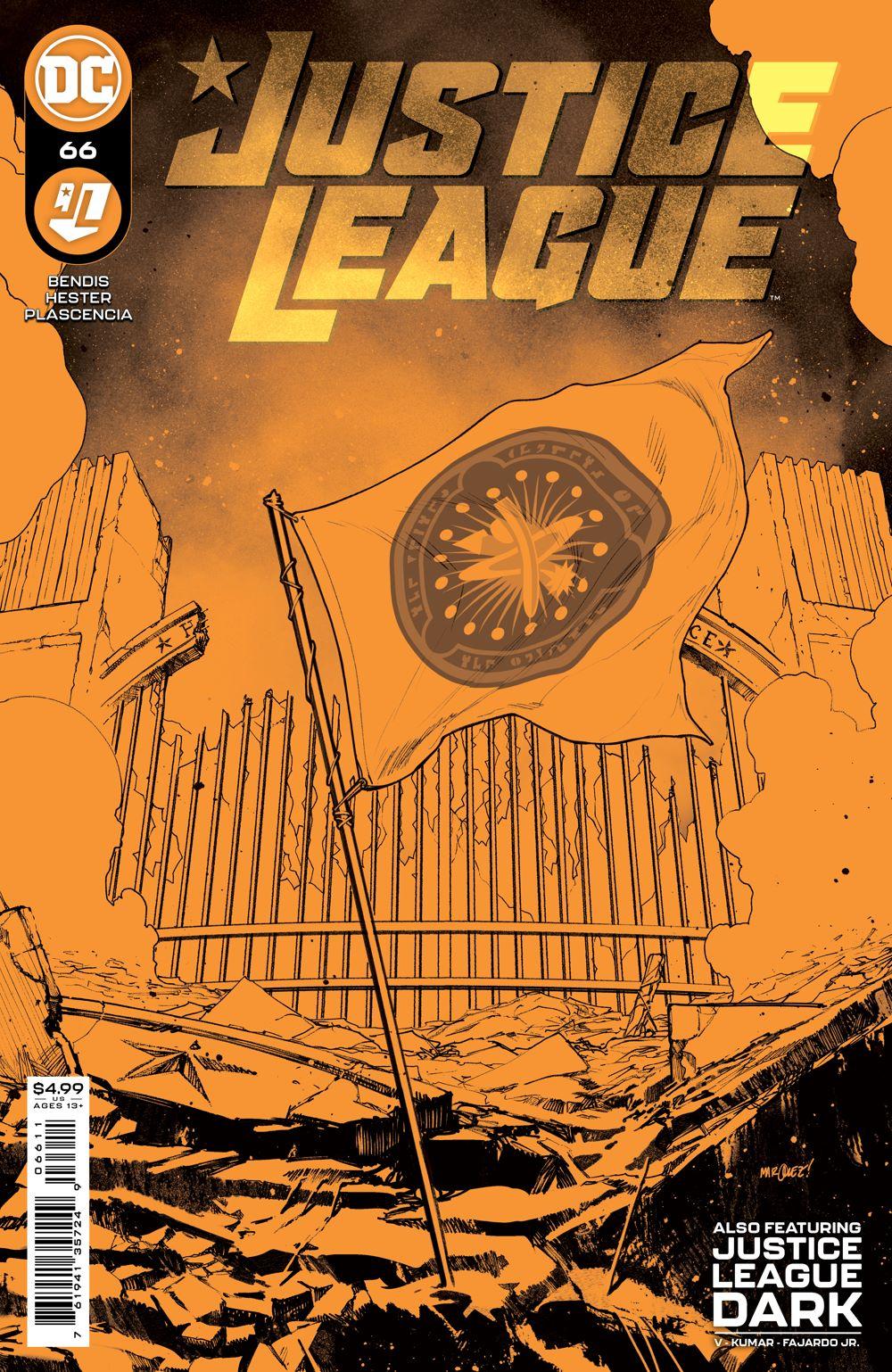JL_Cv66 DC Comics August 2021 Solicitations