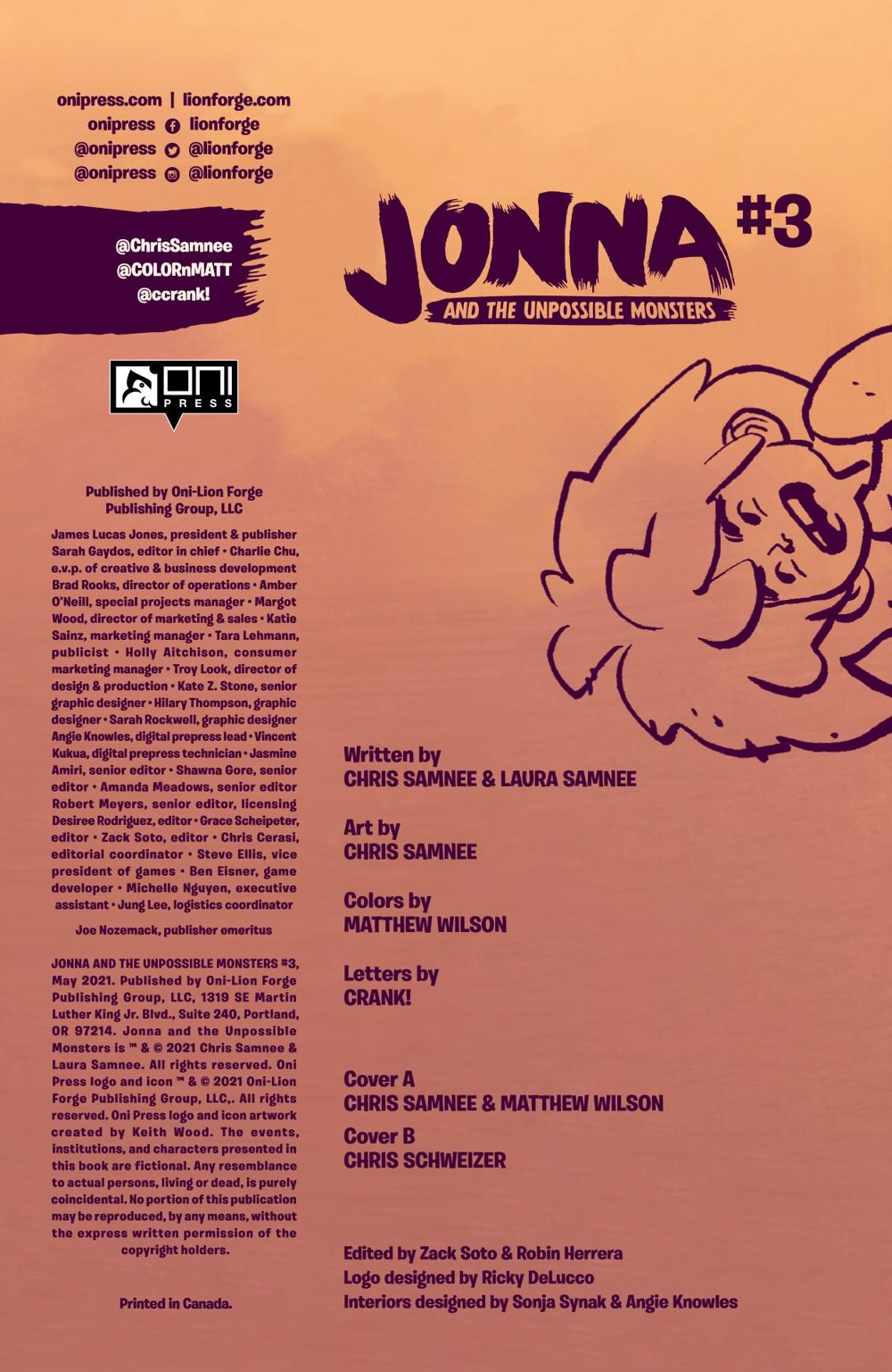 JONNA-3-REFERENCE-03 ComicList Previews: JONNA AND THE UNPOSSIBLE MONSTERS #3