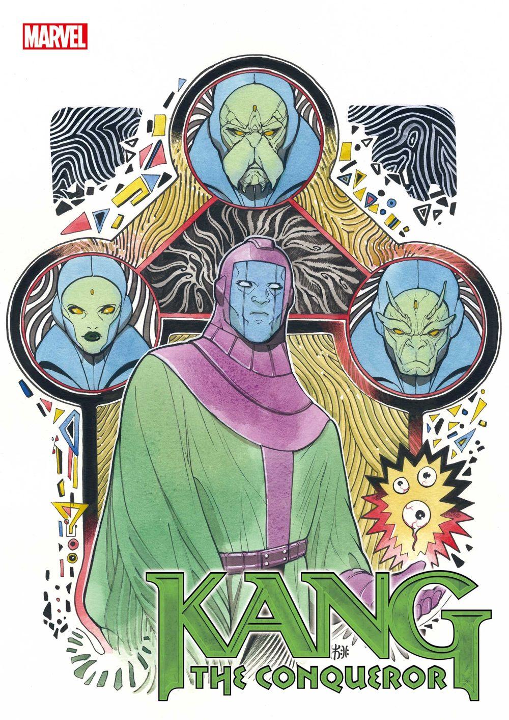 KANGCONQUEROR2021001_Momoko Marvel Comics August 2021 Solicitations