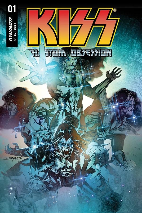 KissPO-01-01021-B-Sayger-1 Dynamite Entertainment August 2021 Solicitations