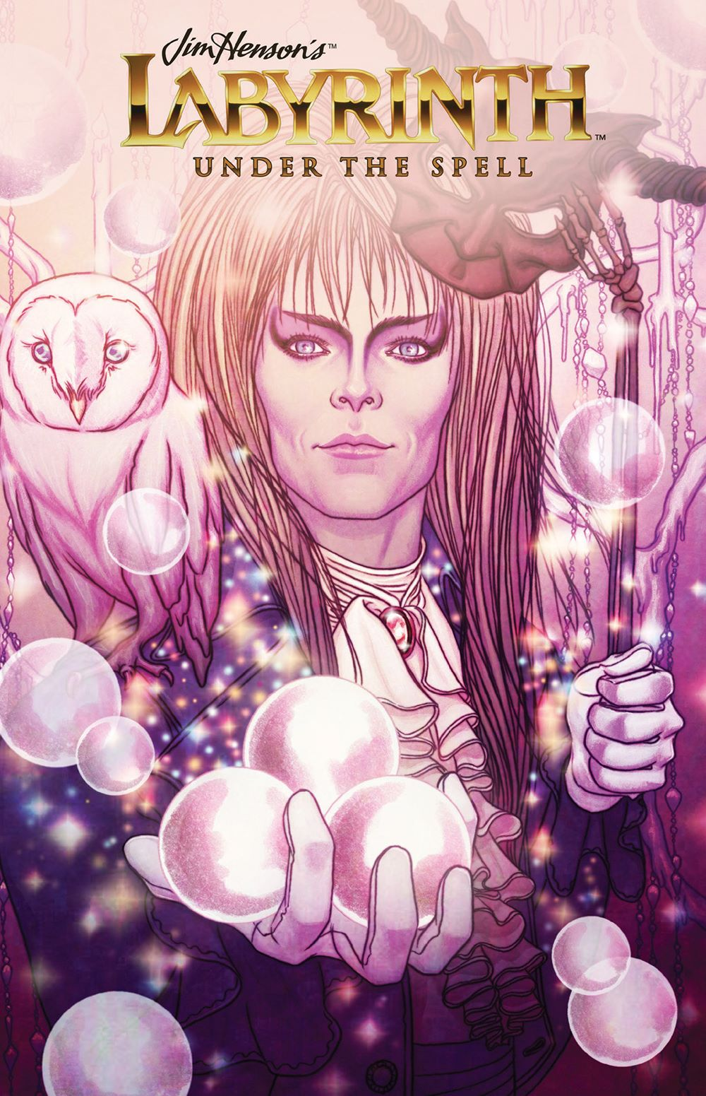 Labyrinth_UnderSpell_HC_Cover ComicList: BOOM! Studios New Releases for 06/02/2021
