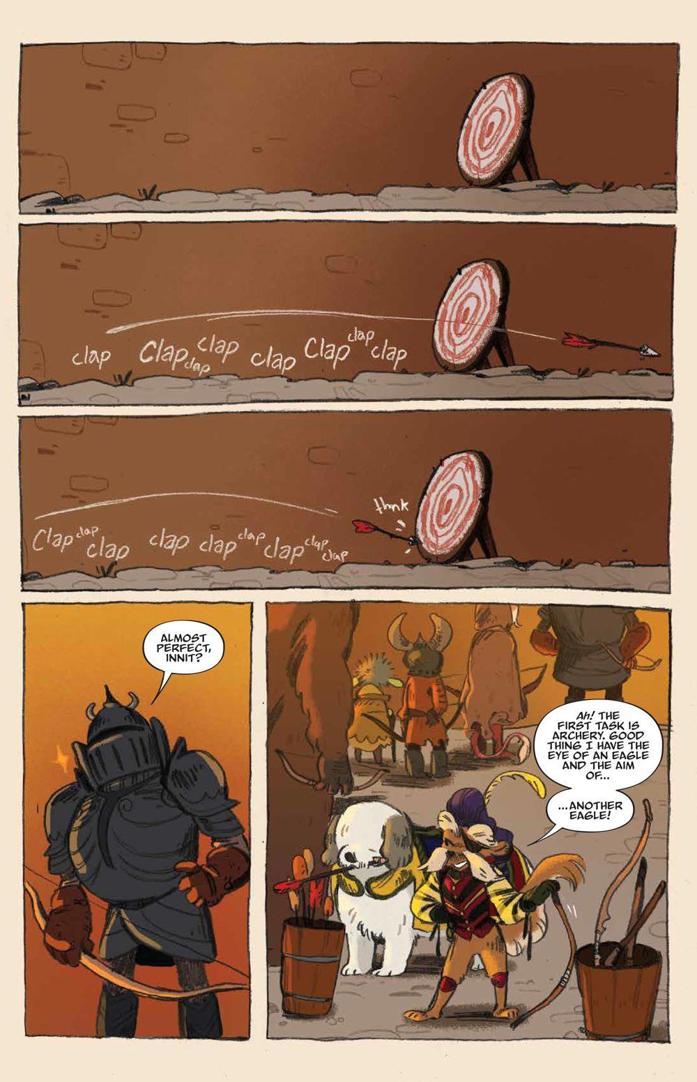 Labyrinth_UnderSpell_HC_PRESS_17 ComicList Previews: JIM HENSON'S LABYRINTH UNDER THE SPELL HC