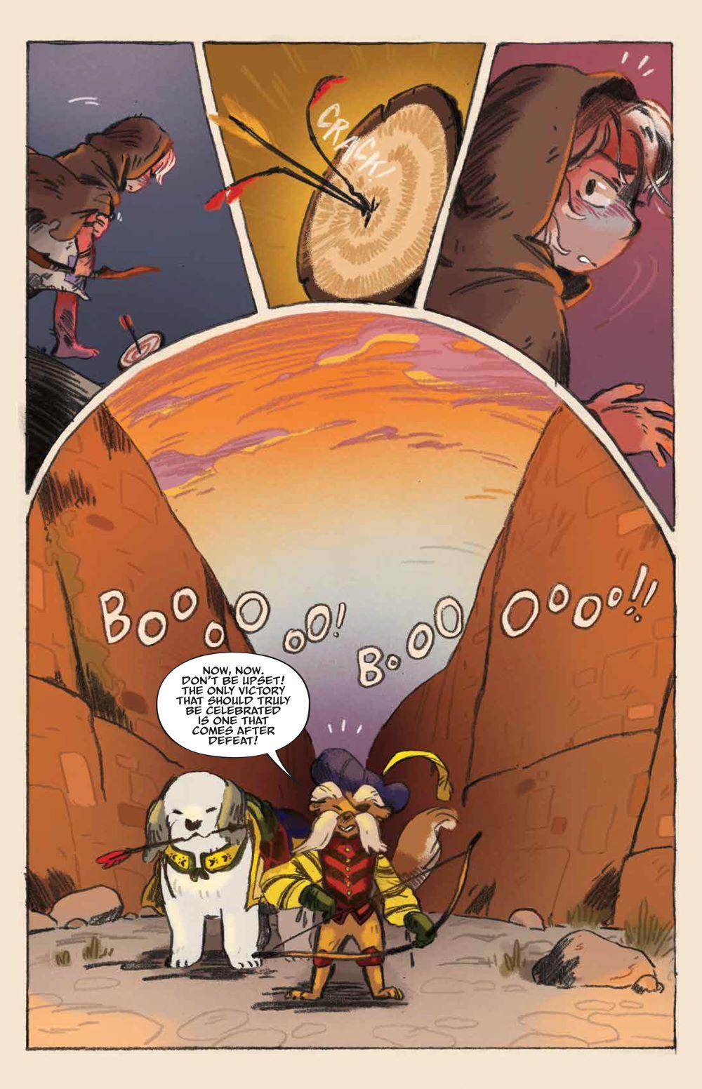 Labyrinth_UnderSpell_HC_PRESS_19 ComicList Previews: JIM HENSON'S LABYRINTH UNDER THE SPELL HC