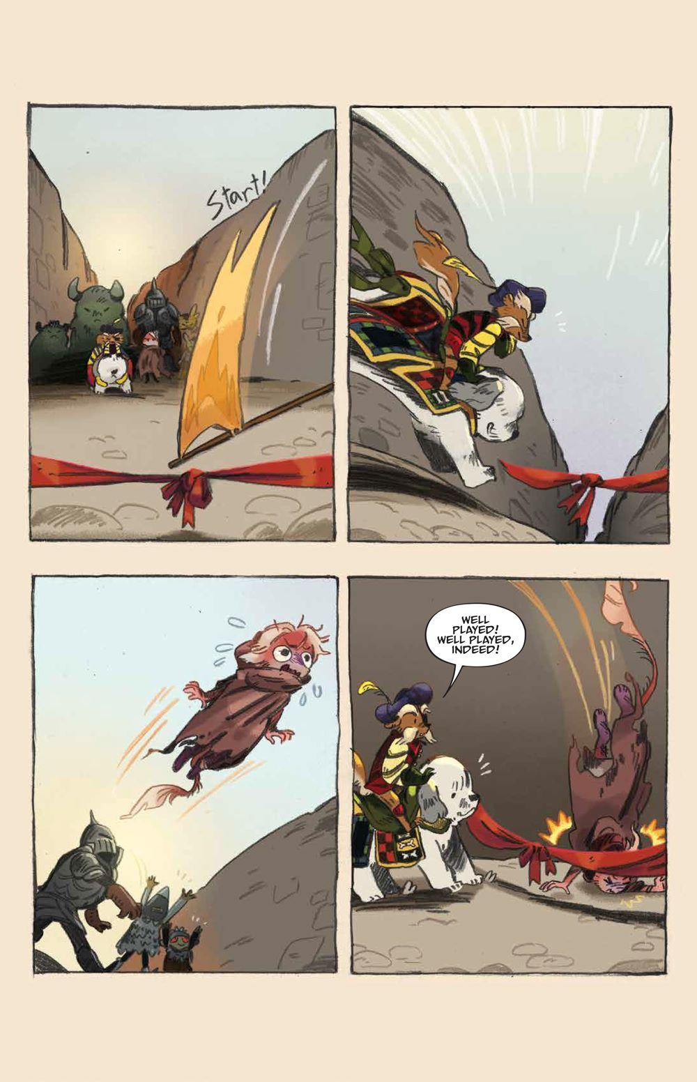 Labyrinth_UnderSpell_HC_PRESS_21 ComicList Previews: JIM HENSON'S LABYRINTH UNDER THE SPELL HC