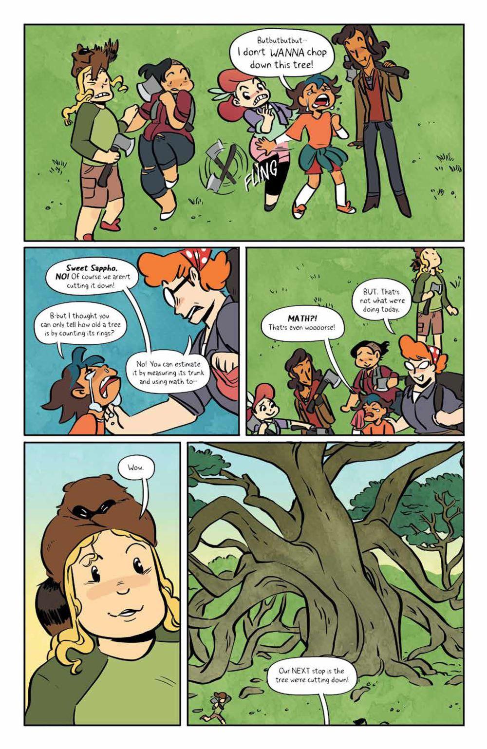 Lumberjanes_v18_SC_PRESS_19 ComicList Previews: LUMBERJANES VOLUME 18 TP