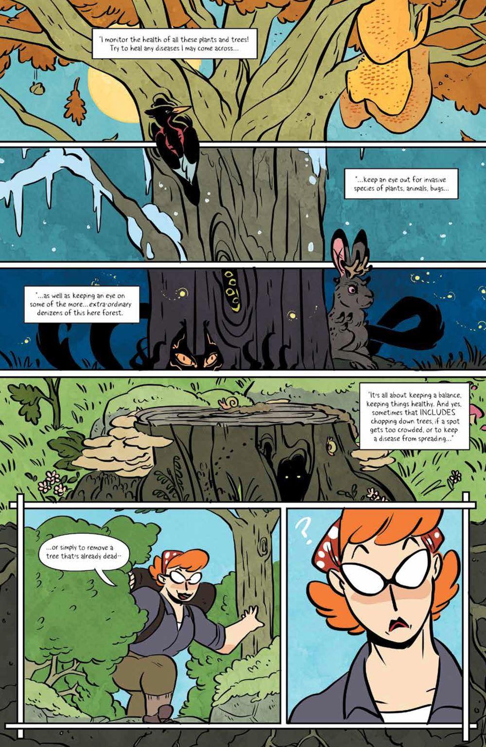 Lumberjanes_v18_SC_PRESS_21 ComicList Previews: LUMBERJANES VOLUME 18 TP