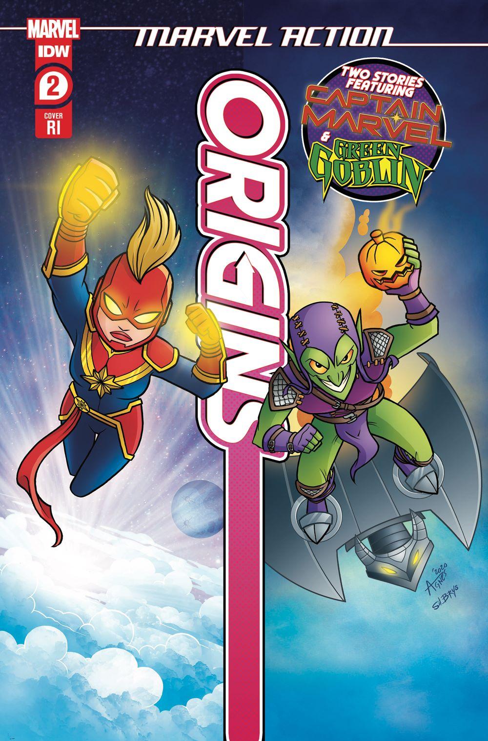 MA-Origins02_cvrRI ComicList Previews: MARVEL ACTION ORIGINS #2 (OF 5)