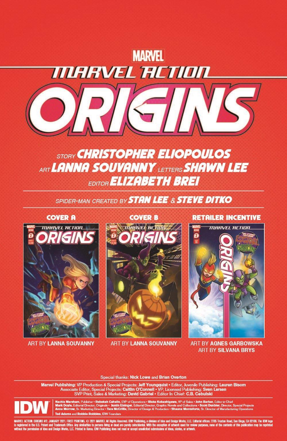 MA-Origins02_pr-2 ComicList Previews: MARVEL ACTION ORIGINS #2 (OF 5)