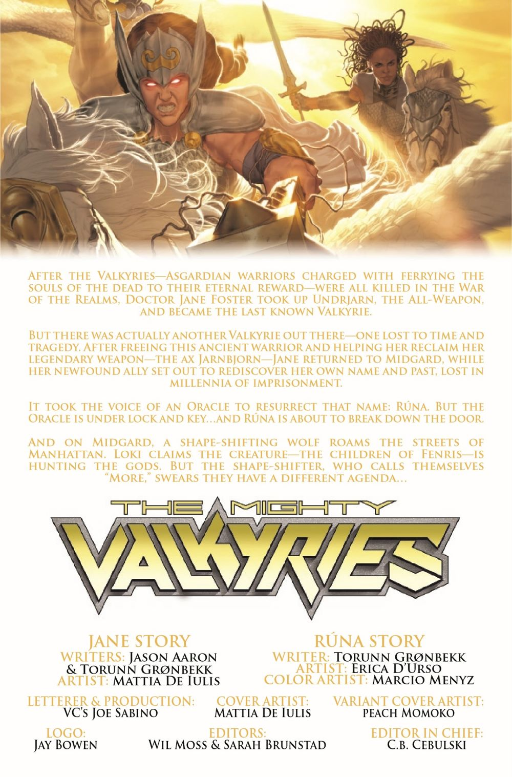 MIGHTYVALKYRIES2021002_Preview-2 ComicList Previews: THE MIGHTY VALKYRIES #2 (OF 5)