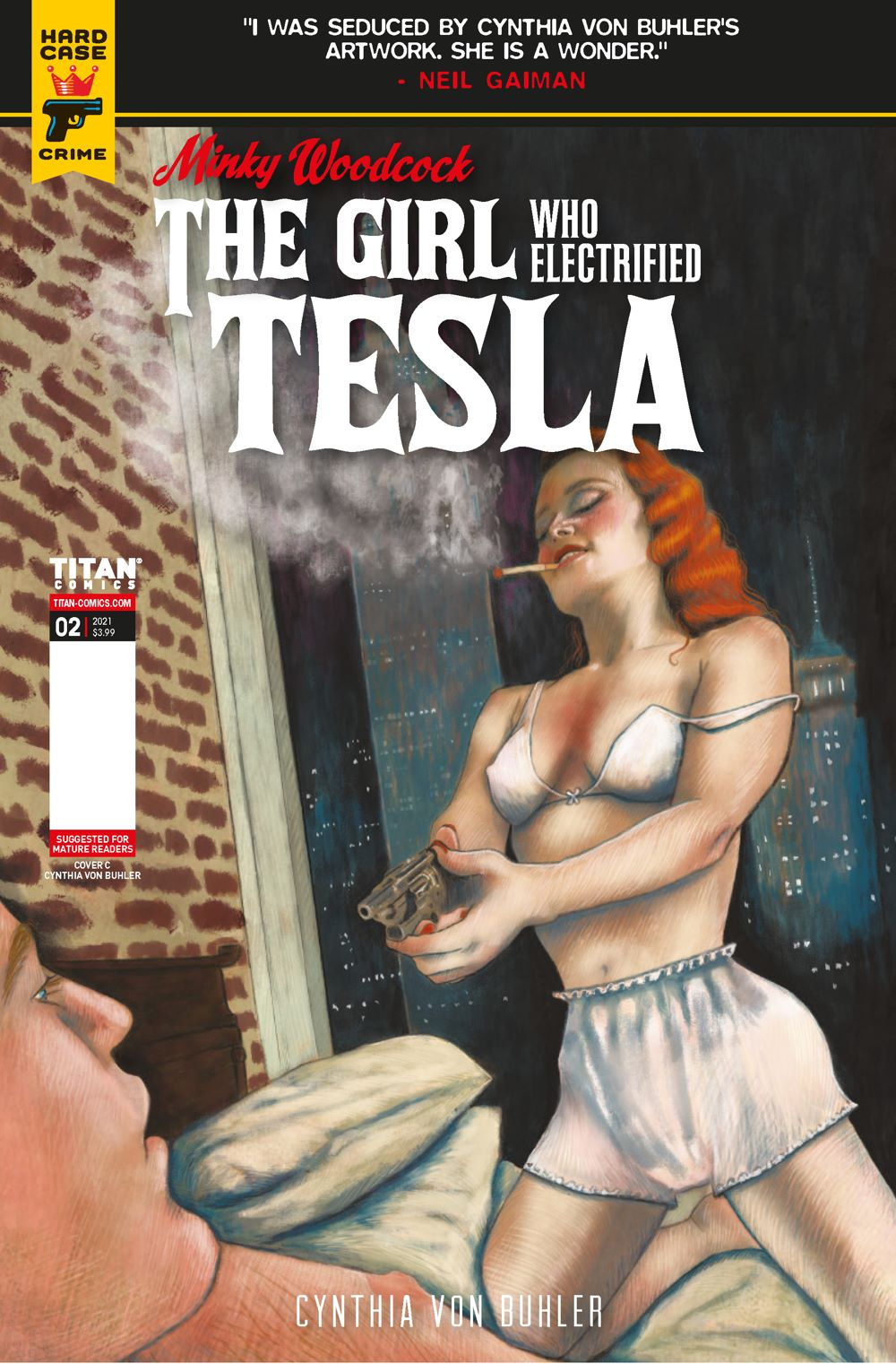MINKY_WOODCOCK_ARC2_2_BUHLER ComicList Previews: MINKY WOODCOCK THE GIRL WHO ELECTRIFIED TESLA #2