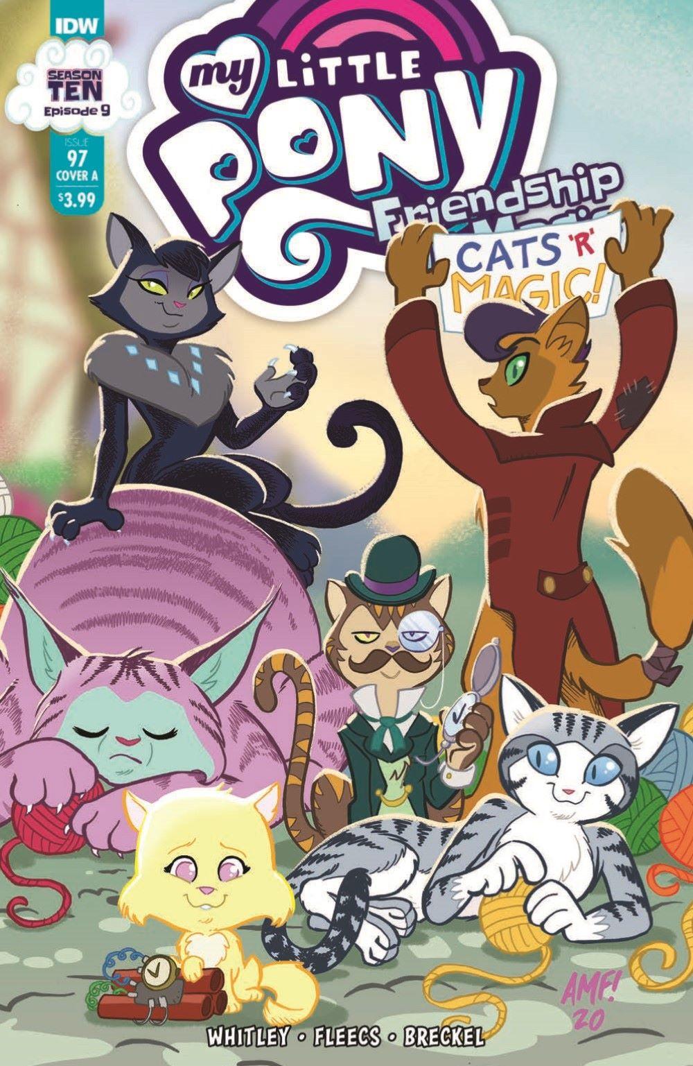 MLP97-pr-1 ComicList Previews: MY LITTLE PONY FRIENDSHIP IS MAGIC #97