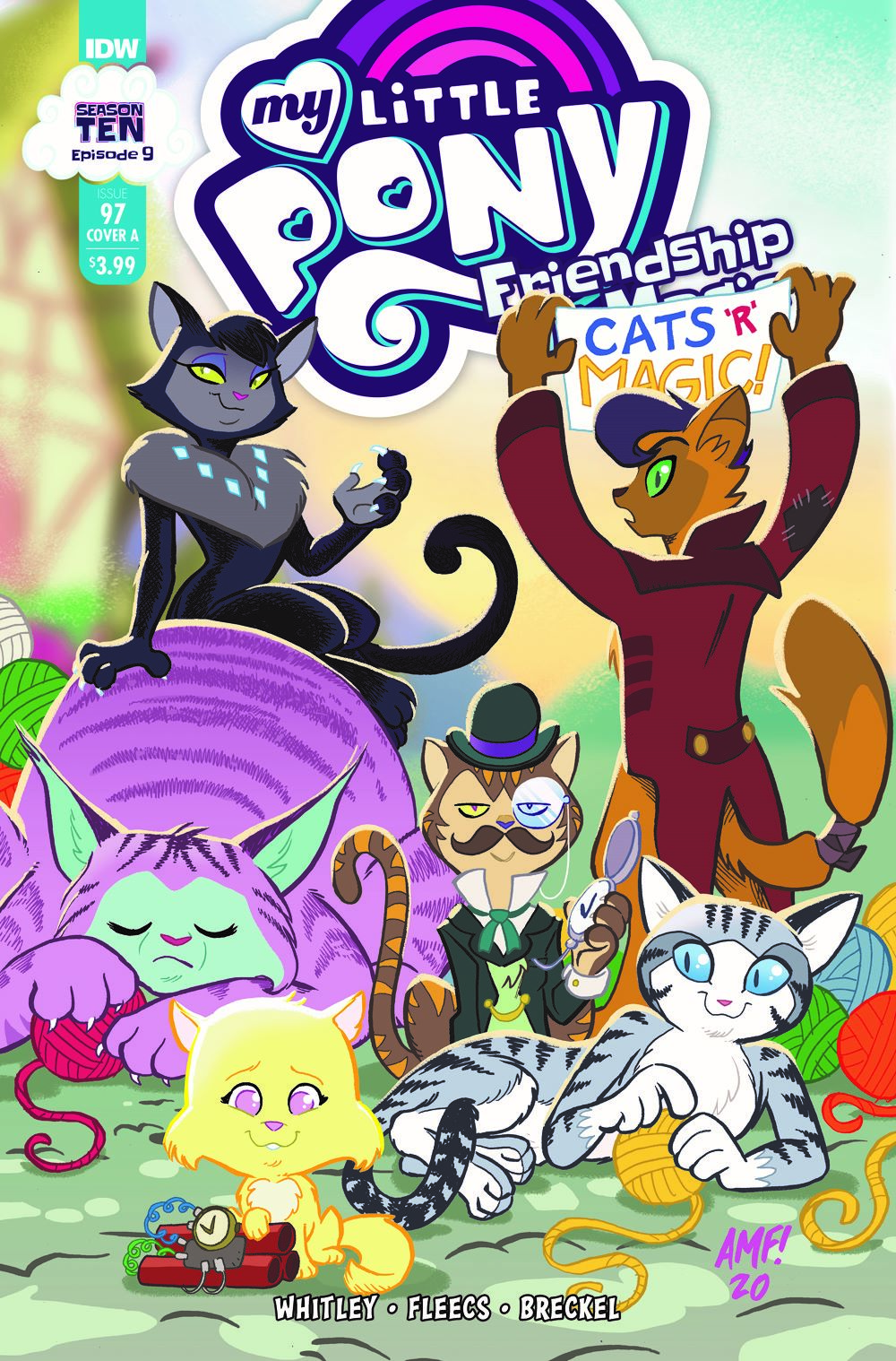 MLP97_09-coverA ComicList Previews: MY LITTLE PONY FRIENDSHIP IS MAGIC #97