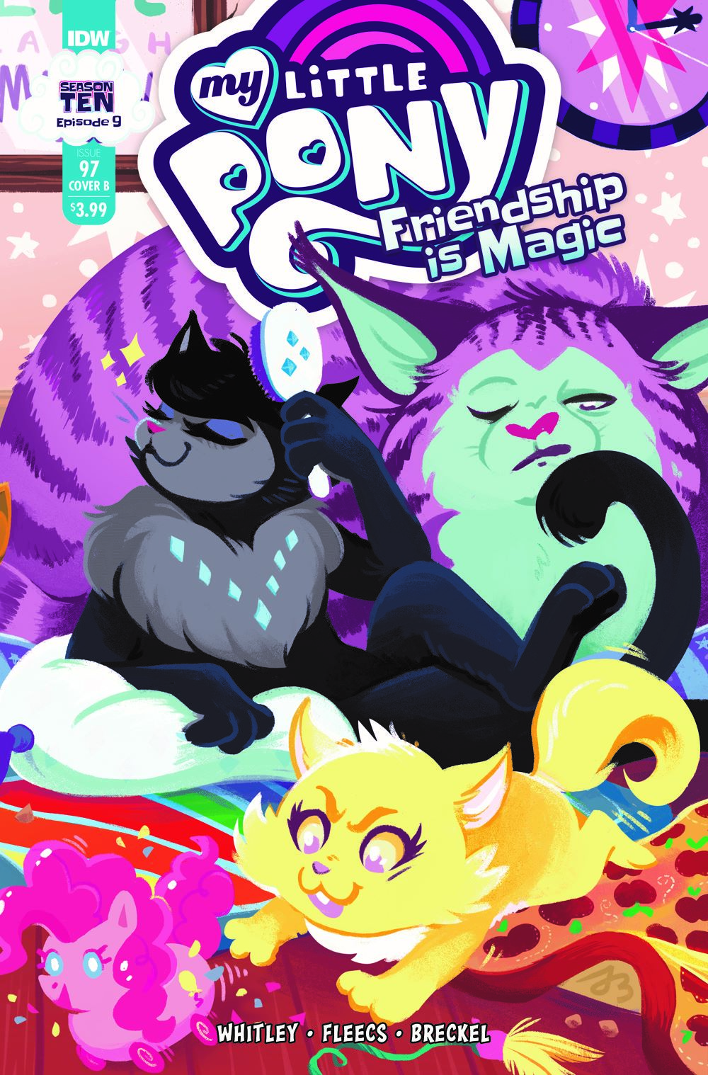MLP97_09-coverB ComicList Previews: MY LITTLE PONY FRIENDSHIP IS MAGIC #97