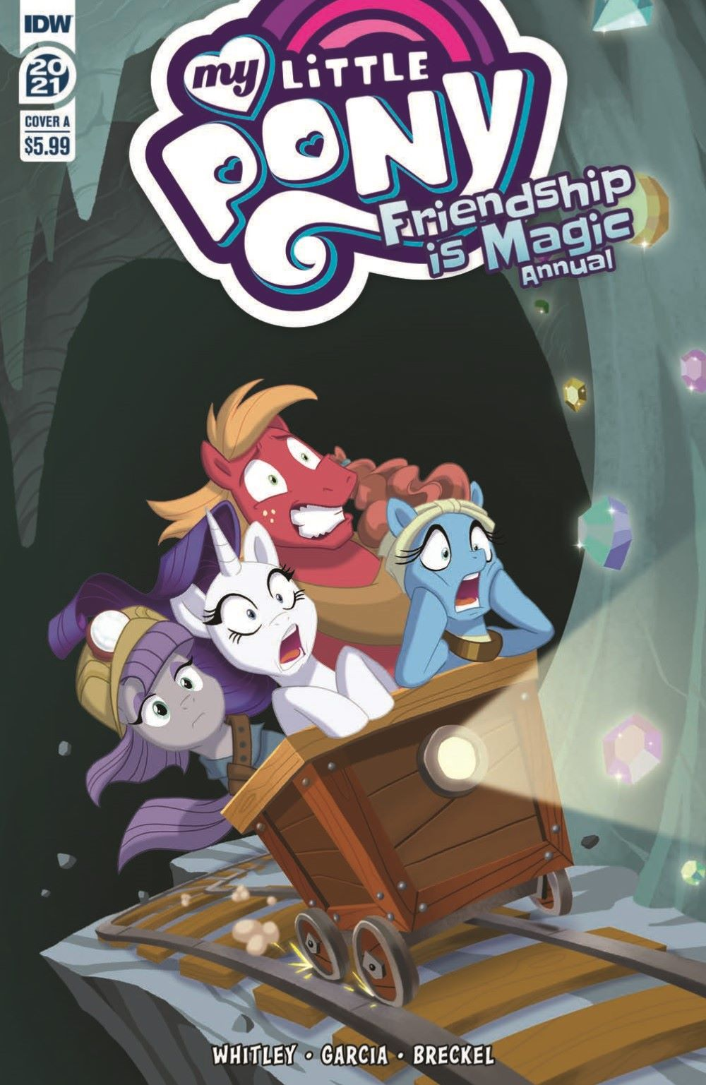 MLP_Annual2021-pr-1 ComicList Previews: MY LITTLE PONY FRIENDSHIP IS MAGIC 2021 ANNUAL