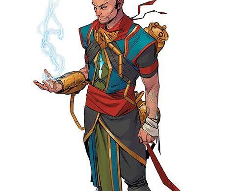 Magic_002_Cover_D_CharacterDesign ComicList Previews: MAGIC #2