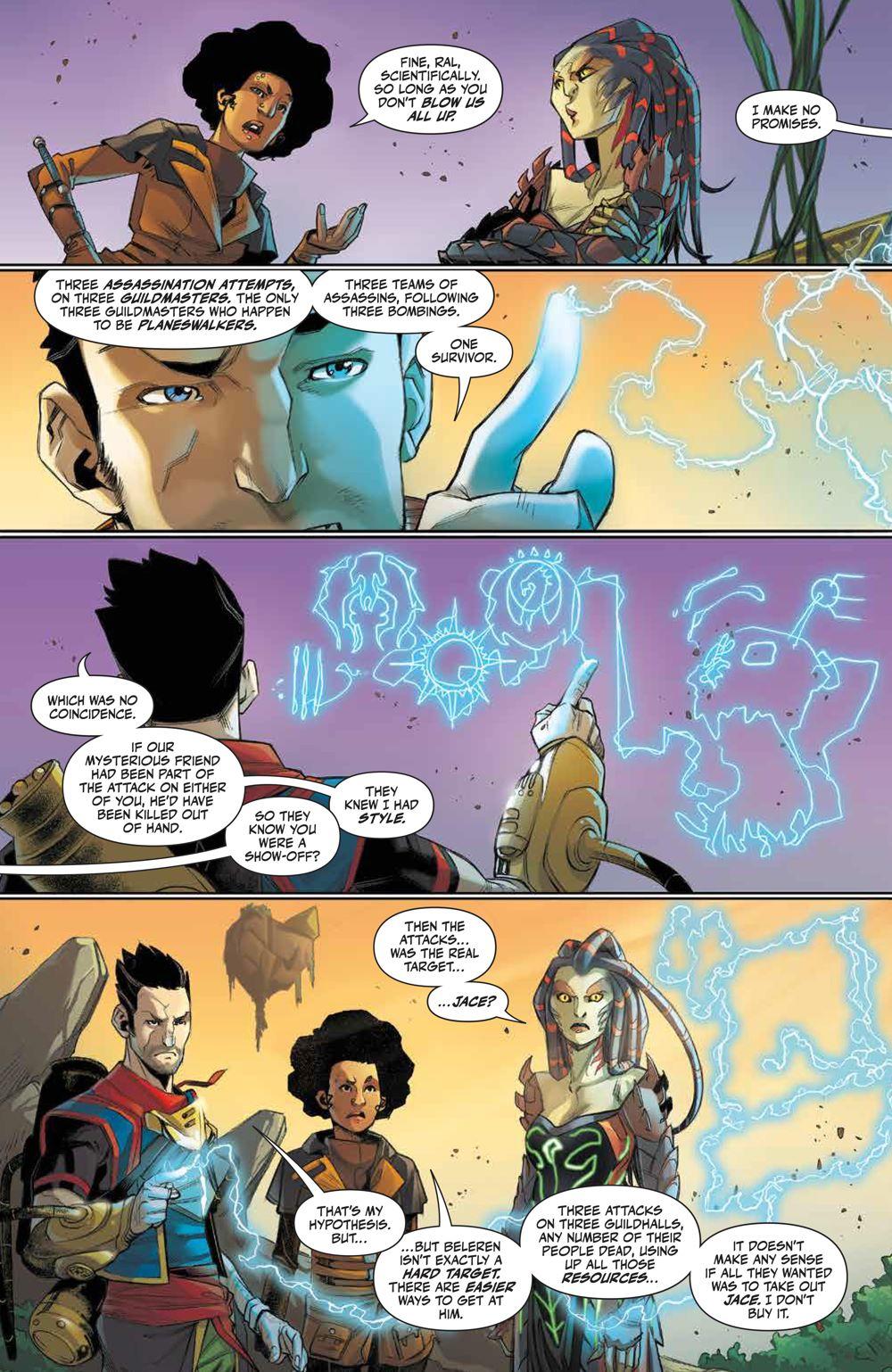 Magic_002_PRESS_4 ComicList Previews: MAGIC #2
