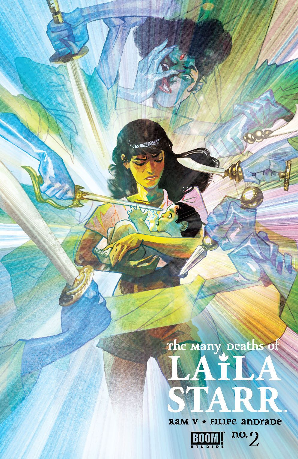ManyDeathsLailaStarr_002_Cover_B_DeathFoil ComicList Previews: THE MANY DEATHS OF LAILA STARR #2 (OF 5)