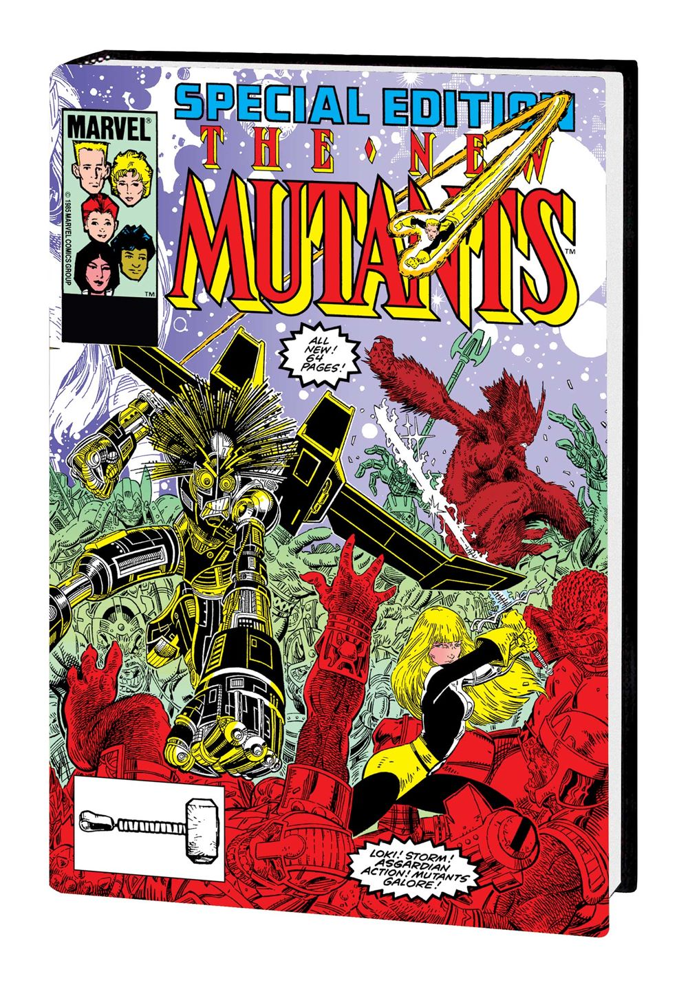 NEW_MUTANTS_VOL_2_OMNI_HC Marvel Comics August 2021 Solicitations