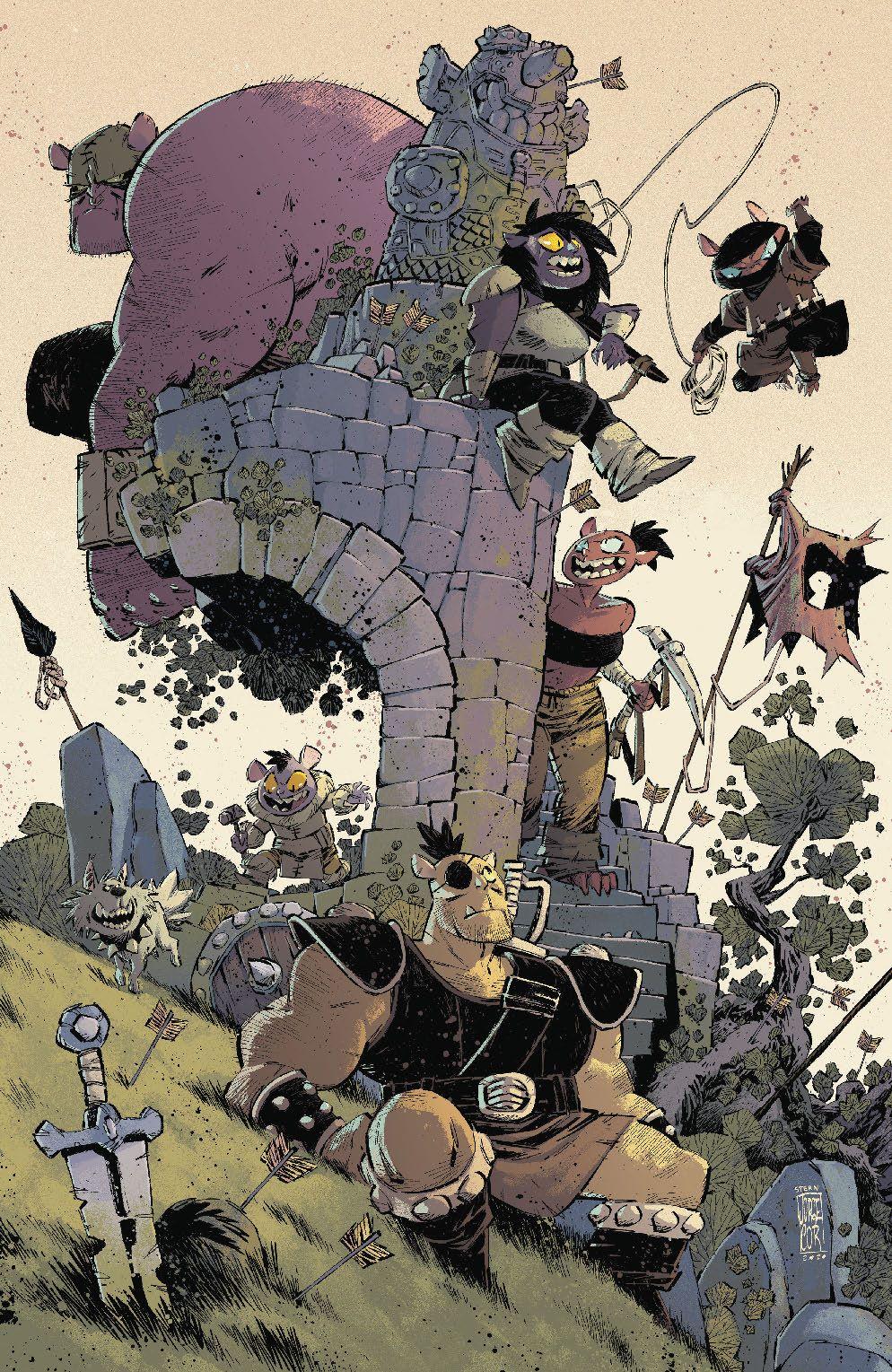 Orcs_004_Cover_C_Variant ComicList Previews: ORCS! #4 (OF 6)