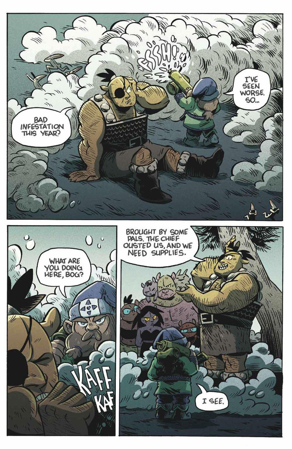 Orcs_004_PRESS_4 ComicList Previews: ORCS! #4 (OF 6)