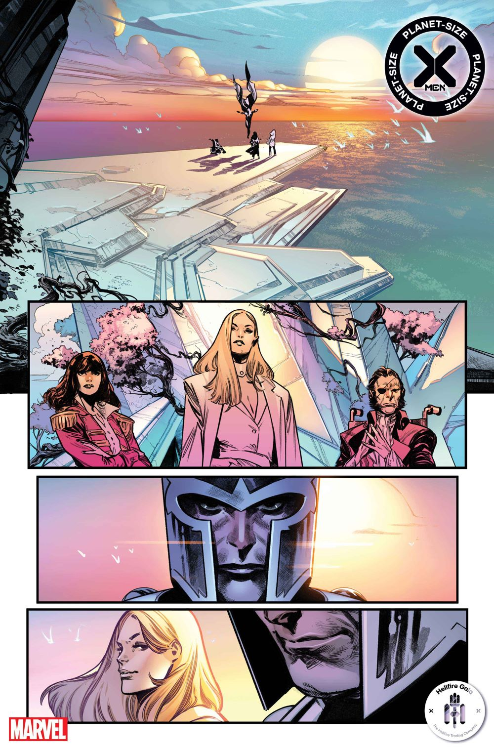 PSXMEN2021001_Interior2 First Look at PLANET-SIZE X-MEN #1 from Marvel Comics