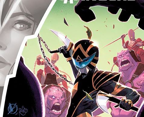 PowerRangers_007_Cover_A_Main ComicList Previews: POWER RANGERS #7