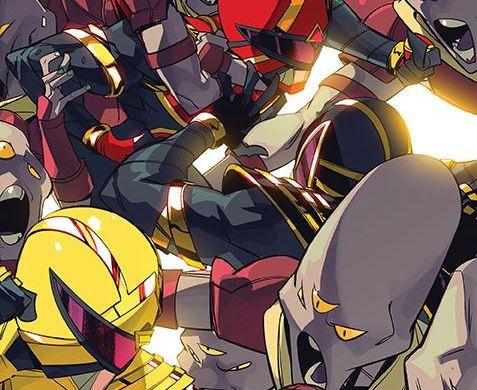 PowerRangers_007_Cover_B_Legacy ComicList Previews: POWER RANGERS #7