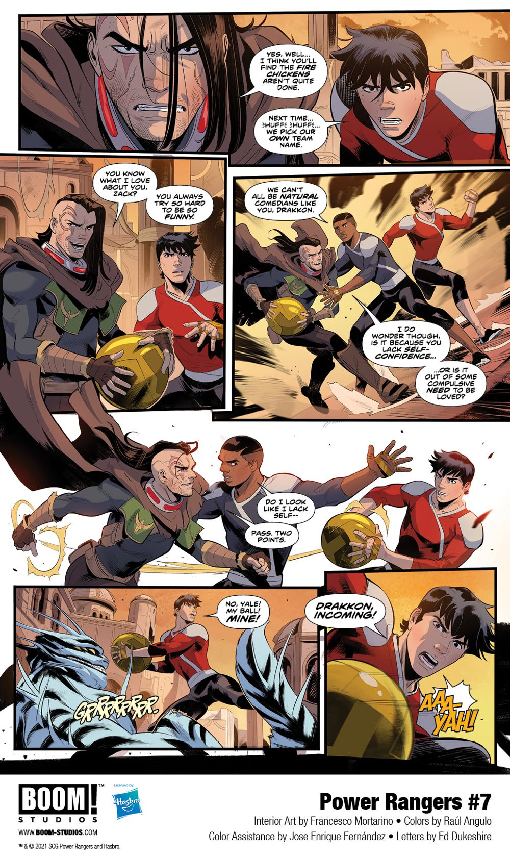 PowerRangers_007_Interiors_002_PROMO First Look at POWER RANGERS #7 by BOOM! Studios