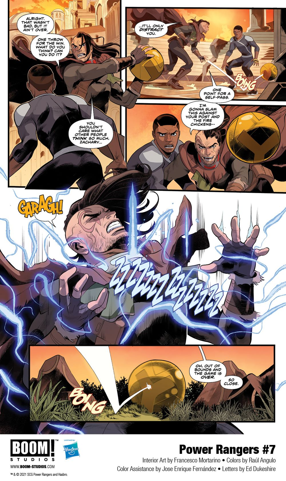 PowerRangers_007_Interiors_003_PROMO First Look at POWER RANGERS #7 by BOOM! Studios