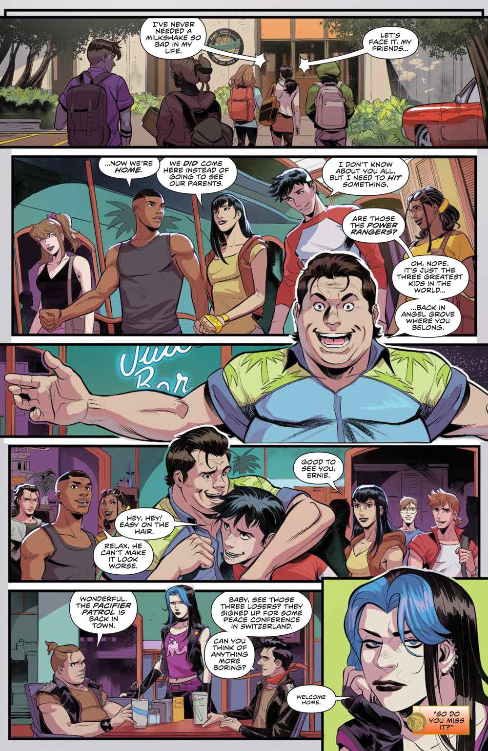 PowerRangers_v1_SC_PRESS_18 ComicList Previews: POWER RANGERS VOLUME 1 TP