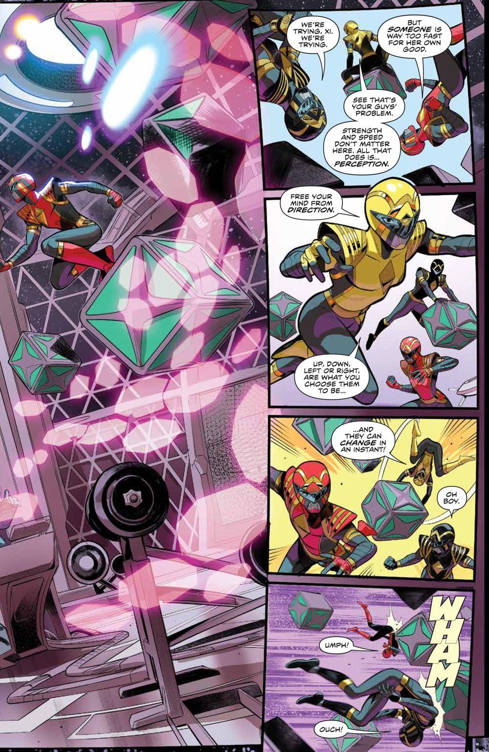 PowerRangers_v1_SC_PRESS_9 ComicList Previews: POWER RANGERS VOLUME 1 TP