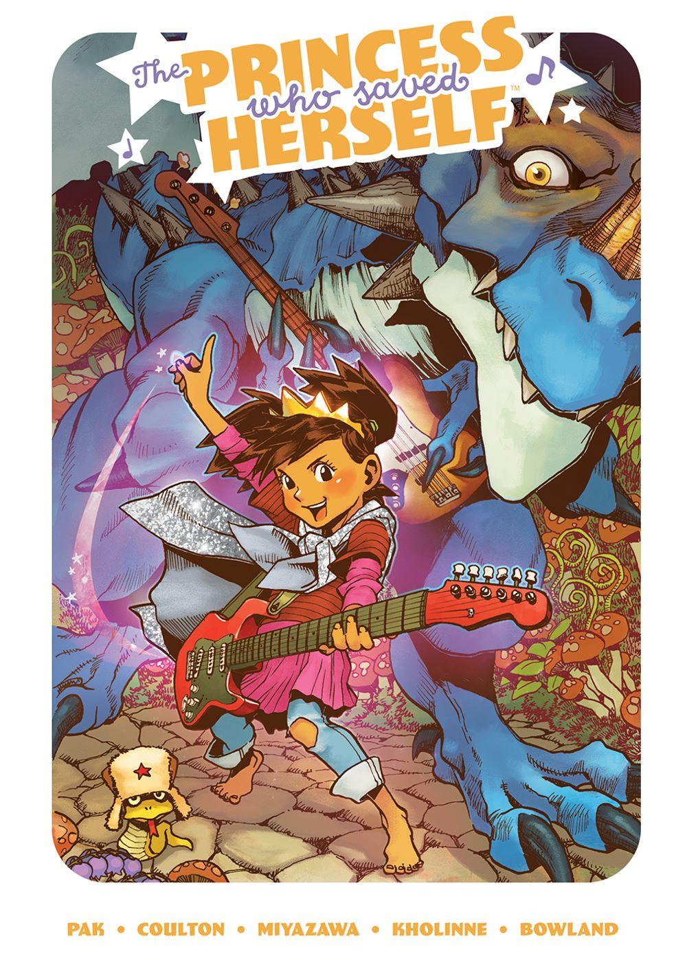 PrincessWhoSavedHerself_HC_Cover ComicList Previews: THE PRINCESS WHO SAVED HERSELF HC