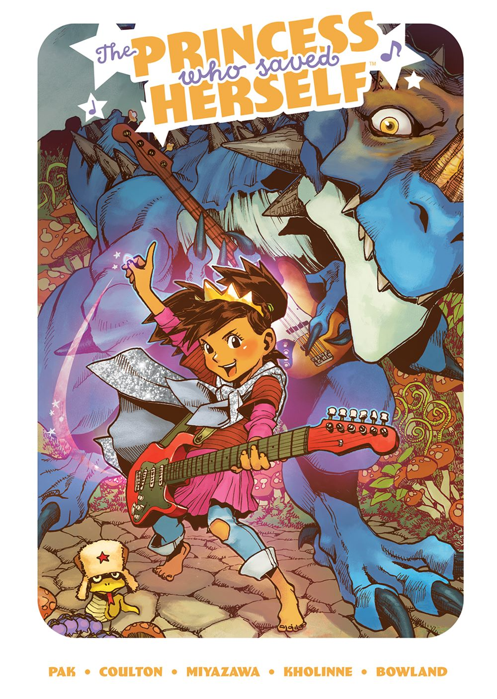 PrincessWhoSavedHerself_HC_Cover ComicList: BOOM! Studios New Releases for 05/12/2021