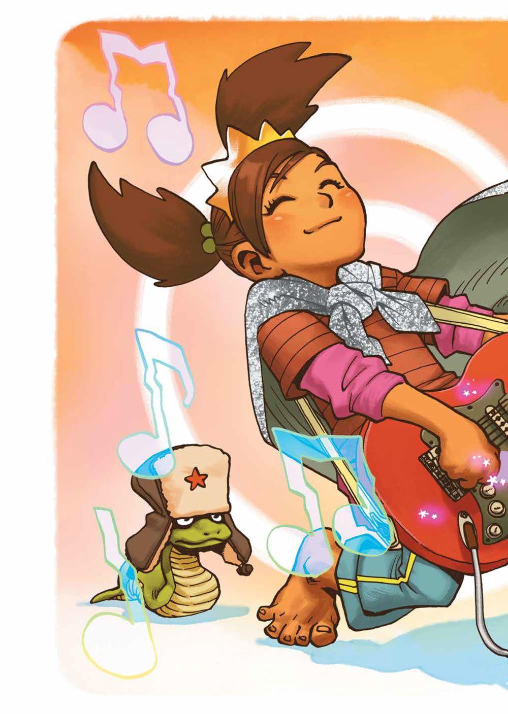 PrincessWhoSavedHerself_HC_PRESS_10 ComicList Previews: THE PRINCESS WHO SAVED HERSELF HC