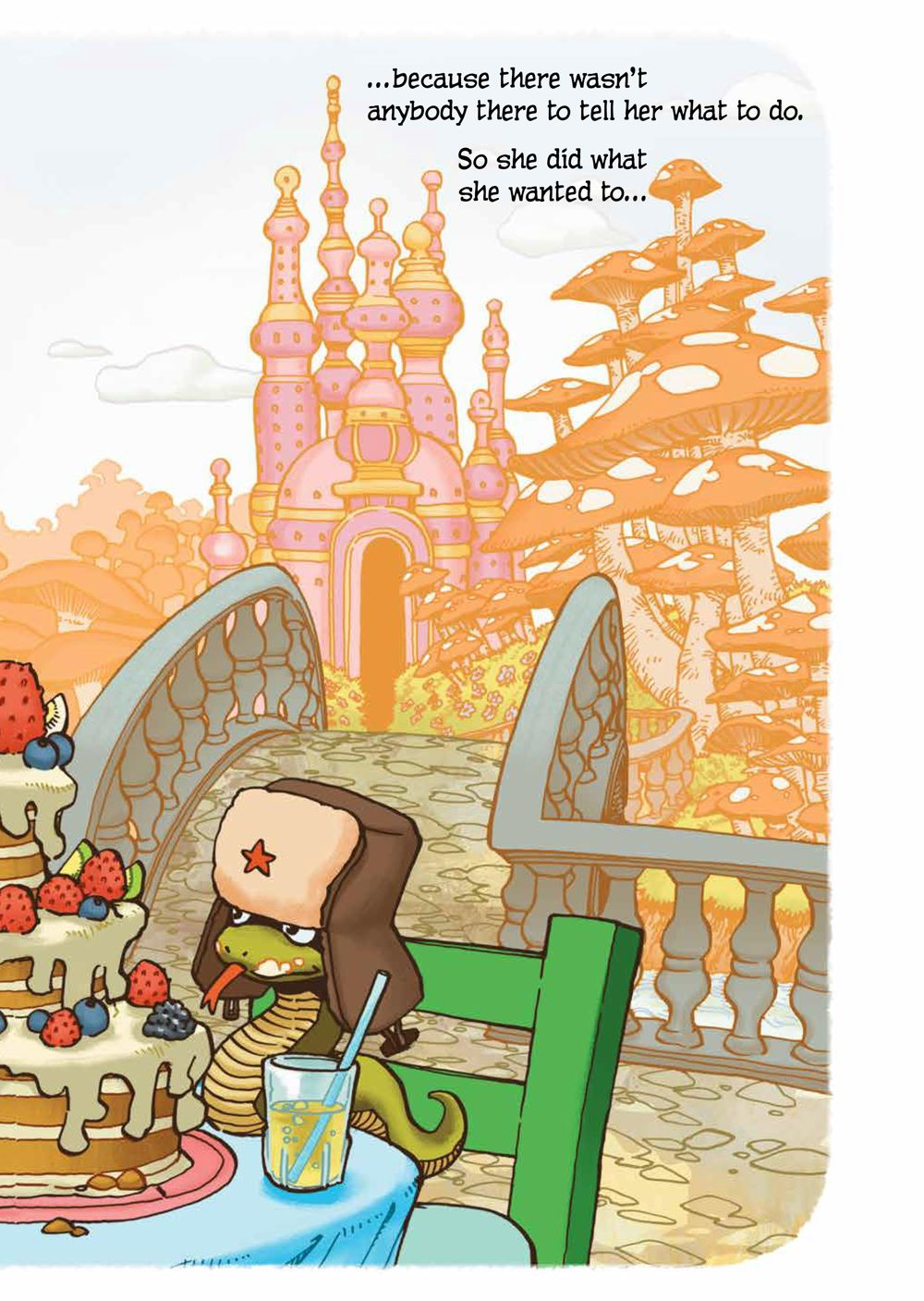 PrincessWhoSavedHerself_HC_PRESS_9 ComicList Previews: THE PRINCESS WHO SAVED HERSELF HC