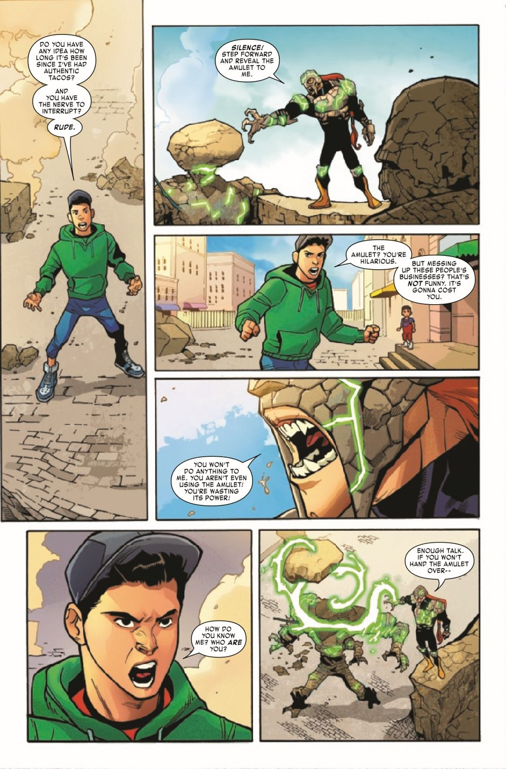 REPTIL2021001_Preview-4 ComicList Previews: REPTIL #1 (OF 4)