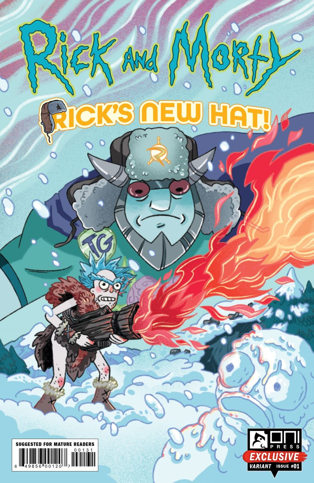 RM-RNH-1-MARKETING-03 ComicList Previews: RICK AND MORTY RICK'S NEW HAT #1