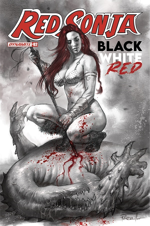 RSBWR-02-02011-A-Parrillo RED SONJA: BLACK, WHITE, RED lines up more top creators