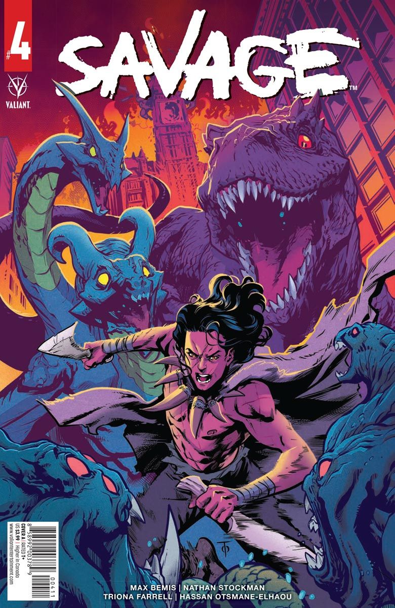 SAVAGE_4_COVER_A ComicList: Valiant Entertainment New Releases for 05/12/2021