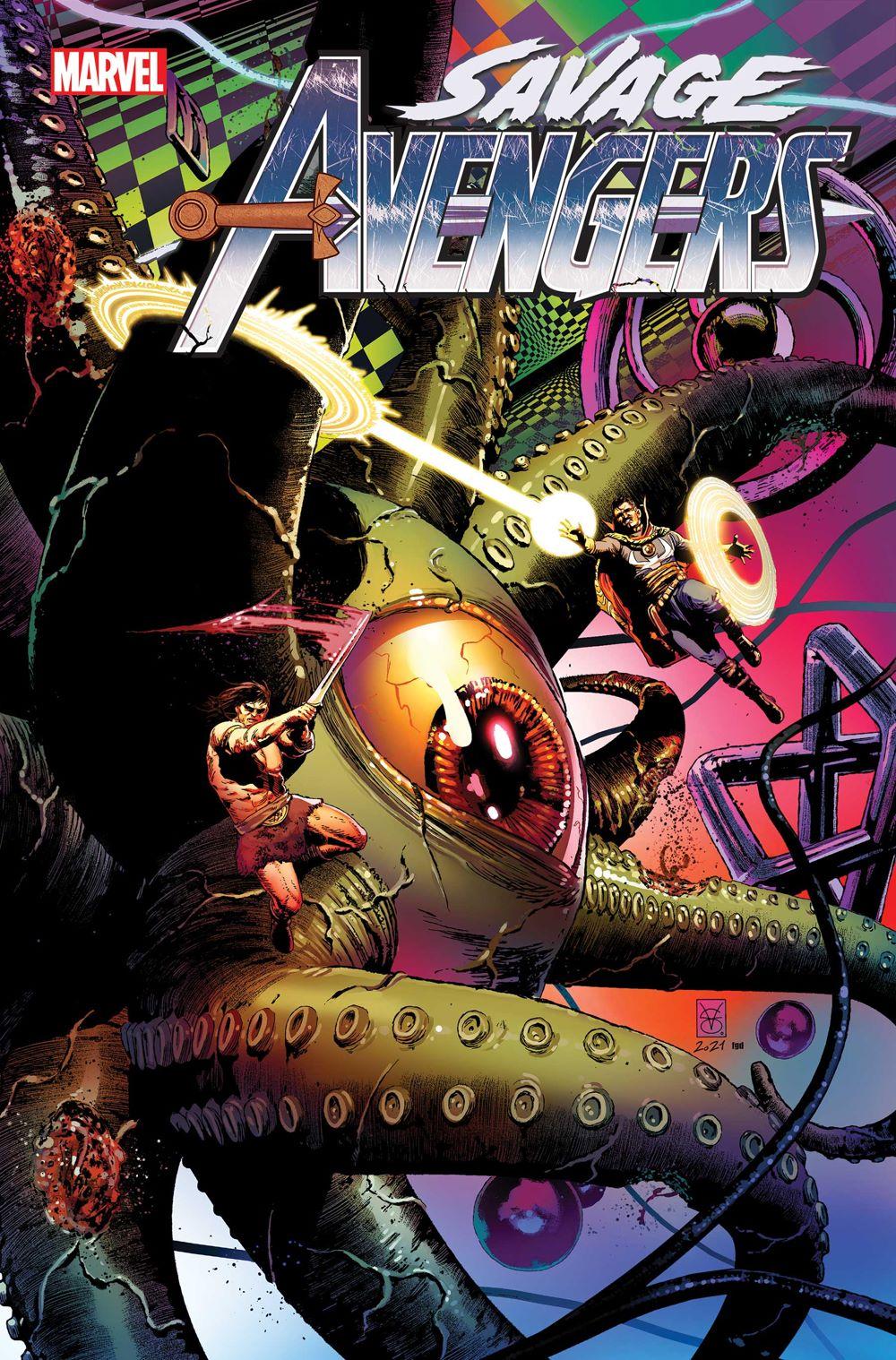 SAVAVEN2019023_Cov Marvel Comics August 2021 Solicitations