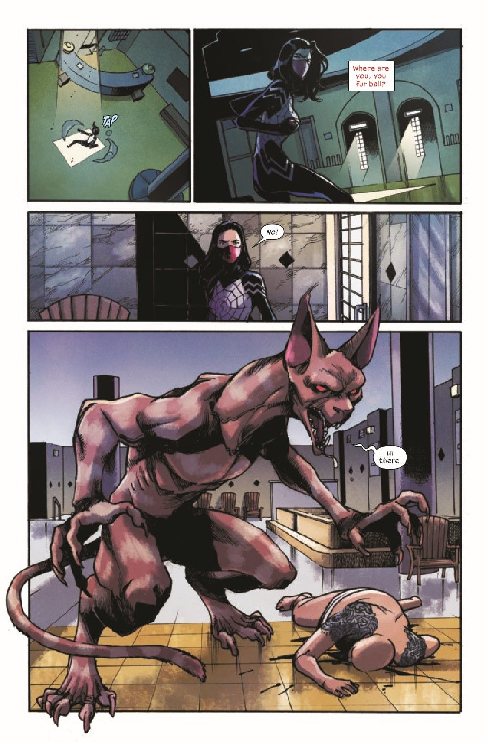 SILK2021003_Preview-4 ComicList Previews: SILK #3 (OF 5)