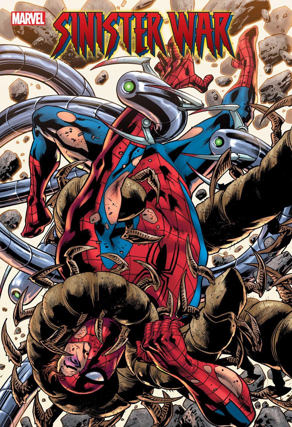 SINWAR2021004cov Marvel Comics August 2021 Solicitations