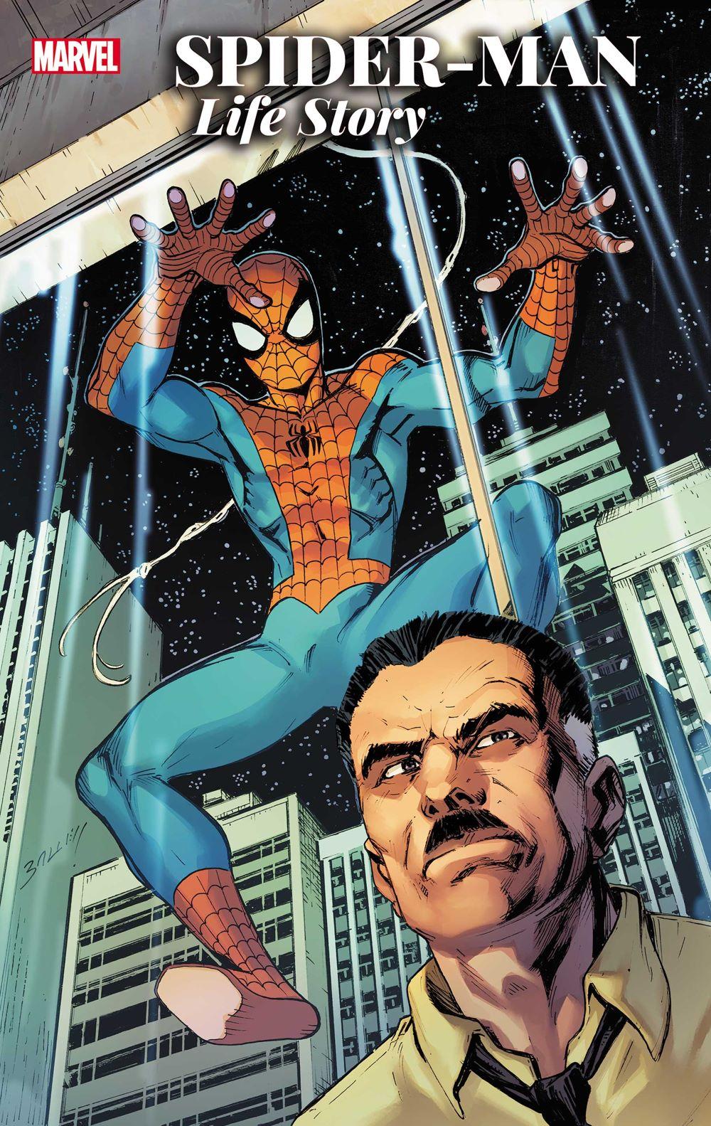 SMLIFESTORYAN2021001_Bagley_Var Marvel Comics August 2021 Solicitations
