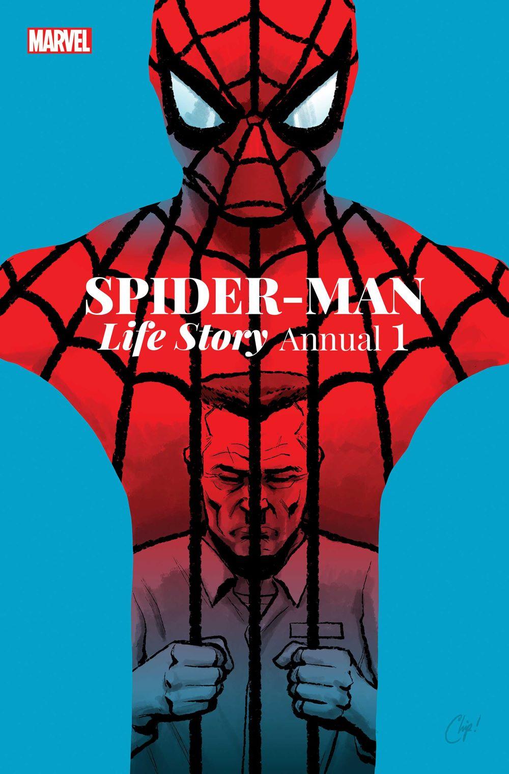 SMLIFESTORYANN2021001_Cov Marvel Comics August 2021 Solicitations
