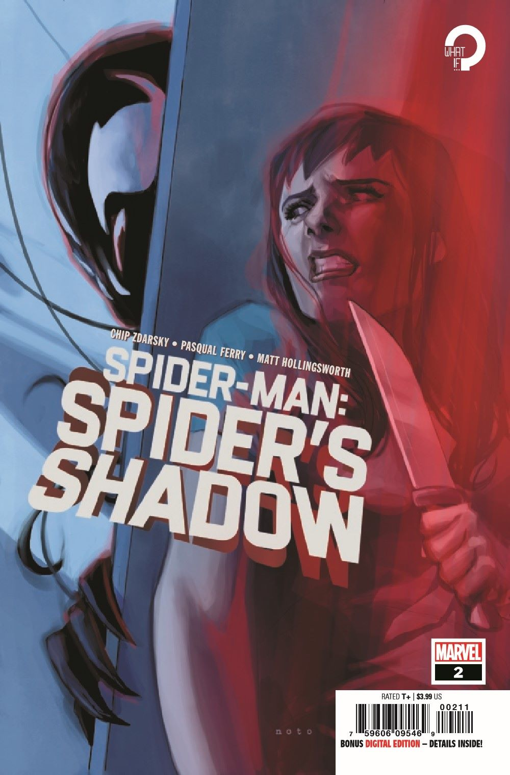 SMSPIDERSHADOW2021002_Preview-1 ComicList Previews: SPIDER-MAN SPIDER'S SHADOW #2 (OF 4)