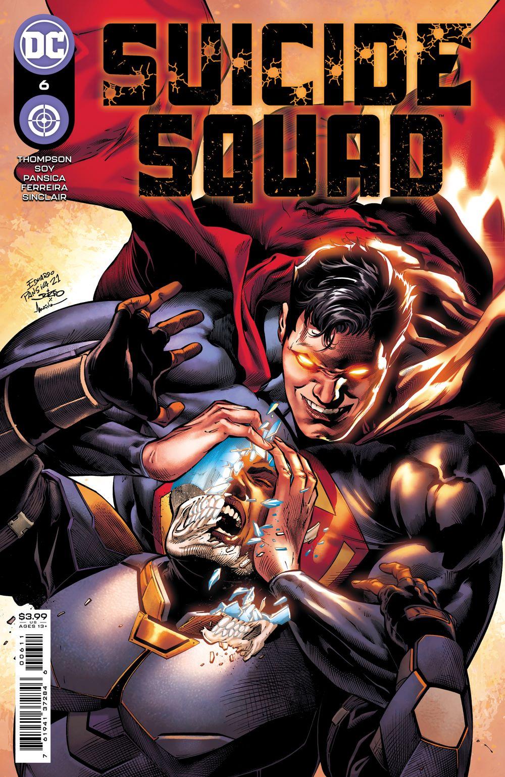 SSQUAD_Cv6 DC Comics August 2021 Solicitations