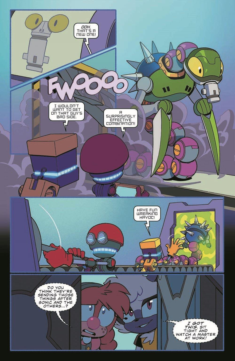 STH39_pr-4 ComicList Previews: SONIC THE HEDGEHOG #39