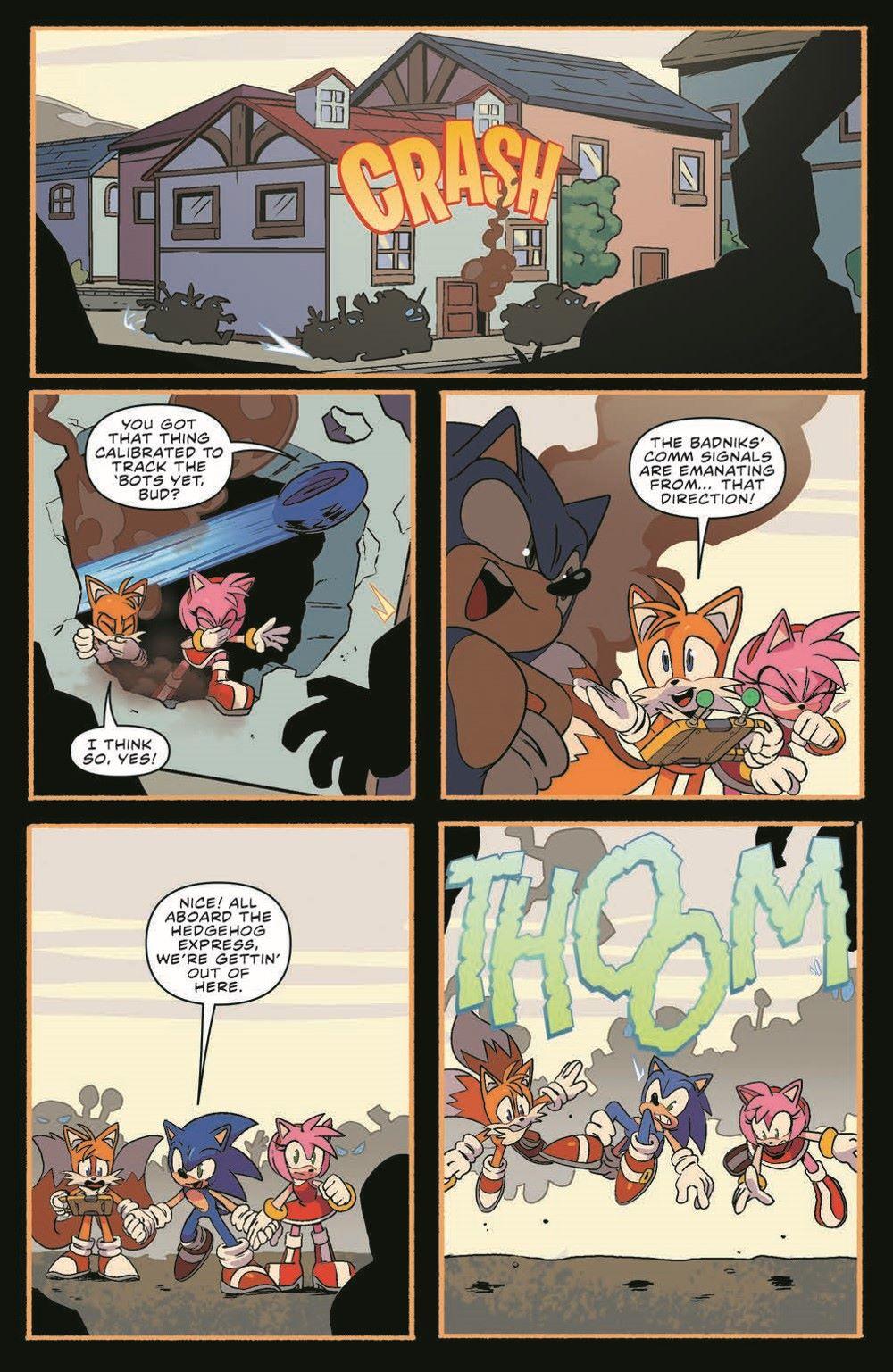 STH39_pr-7 ComicList Previews: SONIC THE HEDGEHOG #39