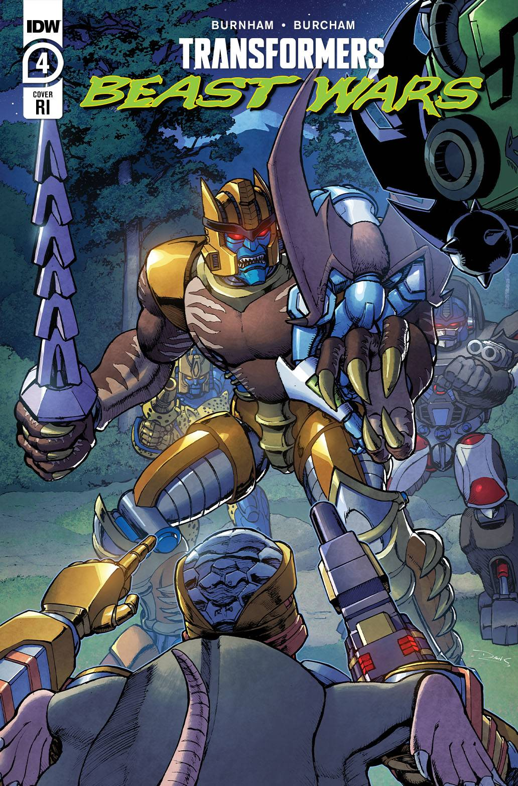 STL184125 ComicList: IDW Publishing New Releases for 05/19/2021
