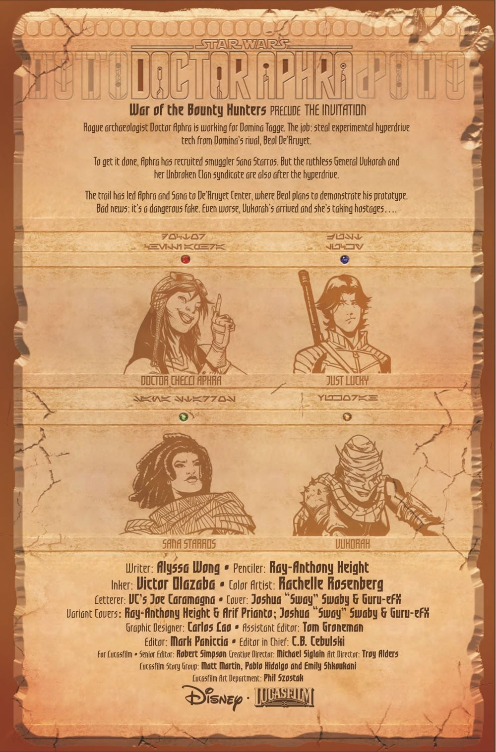 STWAPHRA2020010_Preview-2 ComicList Previews: STAR WARS DOCTOR APHRA #10